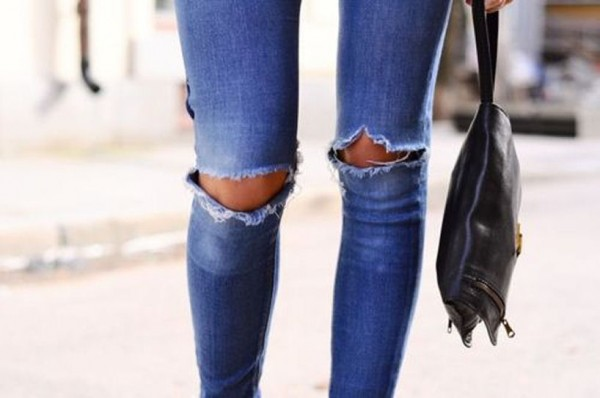 Ripped-Knee-Jeans-Trend-2014-2-600x398